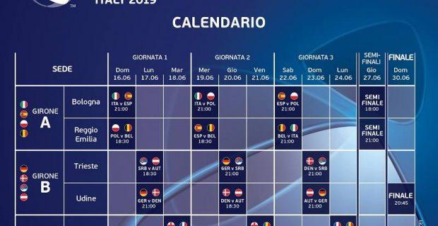 Calendario Campionato Di Calcio.Campionati Europei Under 21 Di Calcio Promotrieste